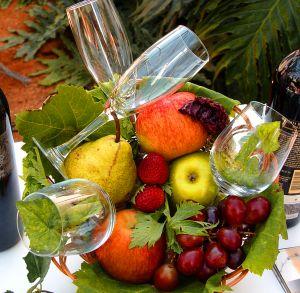 ovocie poháre