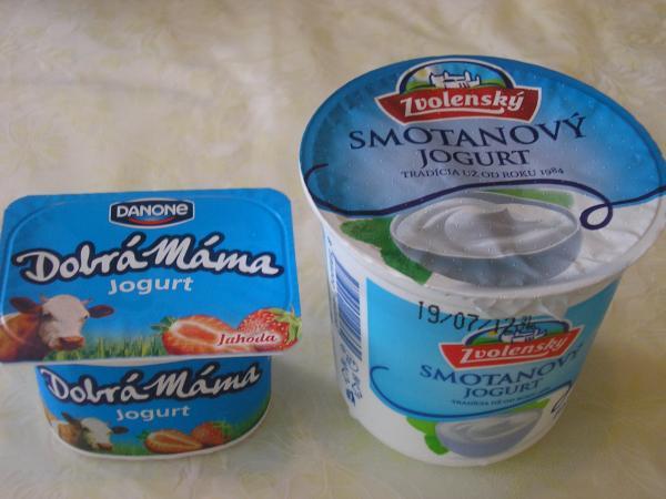víťazné jogurty