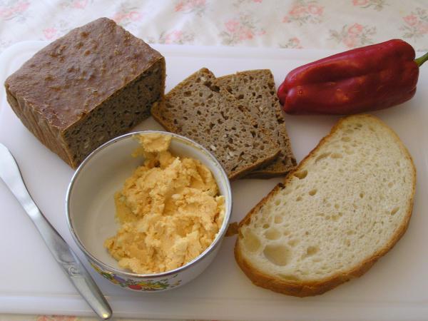 šmirkas s chleby