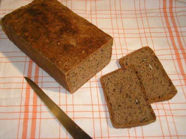 upečený chléb