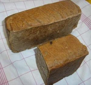môj kváskový chlieb z formy