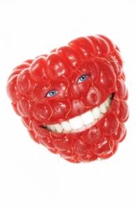malinový úsmev