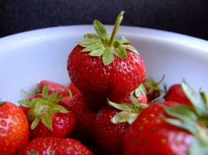 první jahody