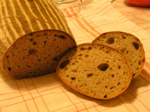 můj kváskový chléb