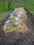 umelý pahorok v záhrade