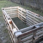 Kompostér z paliet