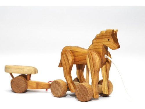 drevený koník