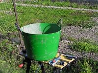 Oprava záhradného vedra