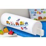 Zábrana na posteľ proti pádu dieťaťa je dôležitejšou prevenciou, než si obvykle myslíme